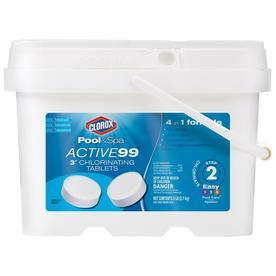 Beau Clorox Poolu0026Spa Active99 5 Lb Bucket 3 In Pool Chlorine Tabs