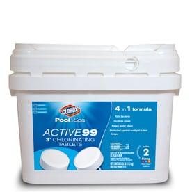 Ordinaire Clorox Poolu0026Spa Active99 25 Lb Bucket 3 In Pool Chlorine Tabs