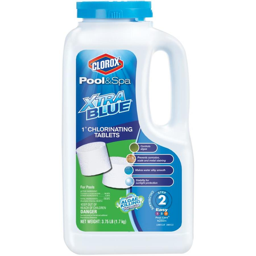 Clorox Pool Amp Spa Xtrablue 3 75 Lb Bottle 1 In Pool Chlorine