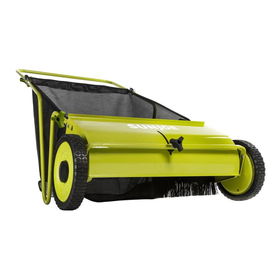 Sun Joe 26-in Lawn Sweeper
