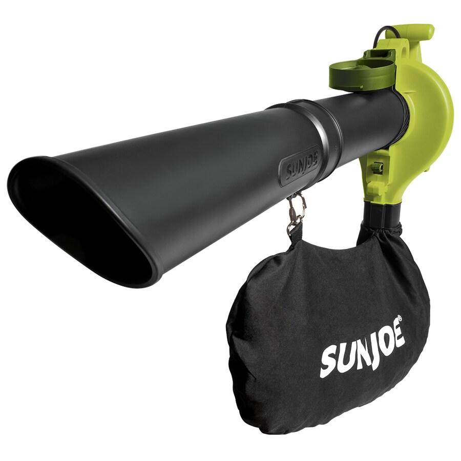 Sun Joe 13-Amp 421-CFM 240-MPH Medium-Duty Corded Electric Leaf Blower with Vacuum Kit