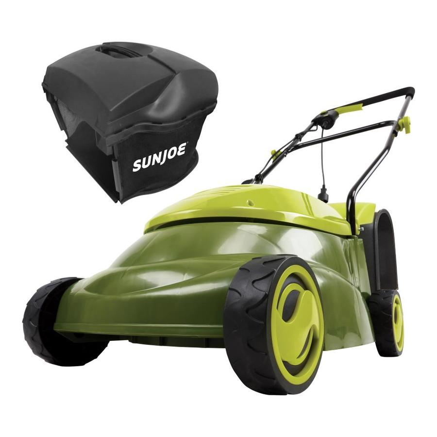 Sun Joe 13-Amp 16.5-in Deck Width Push Corded Electric Push Lawn Mower with Mulching Capability
