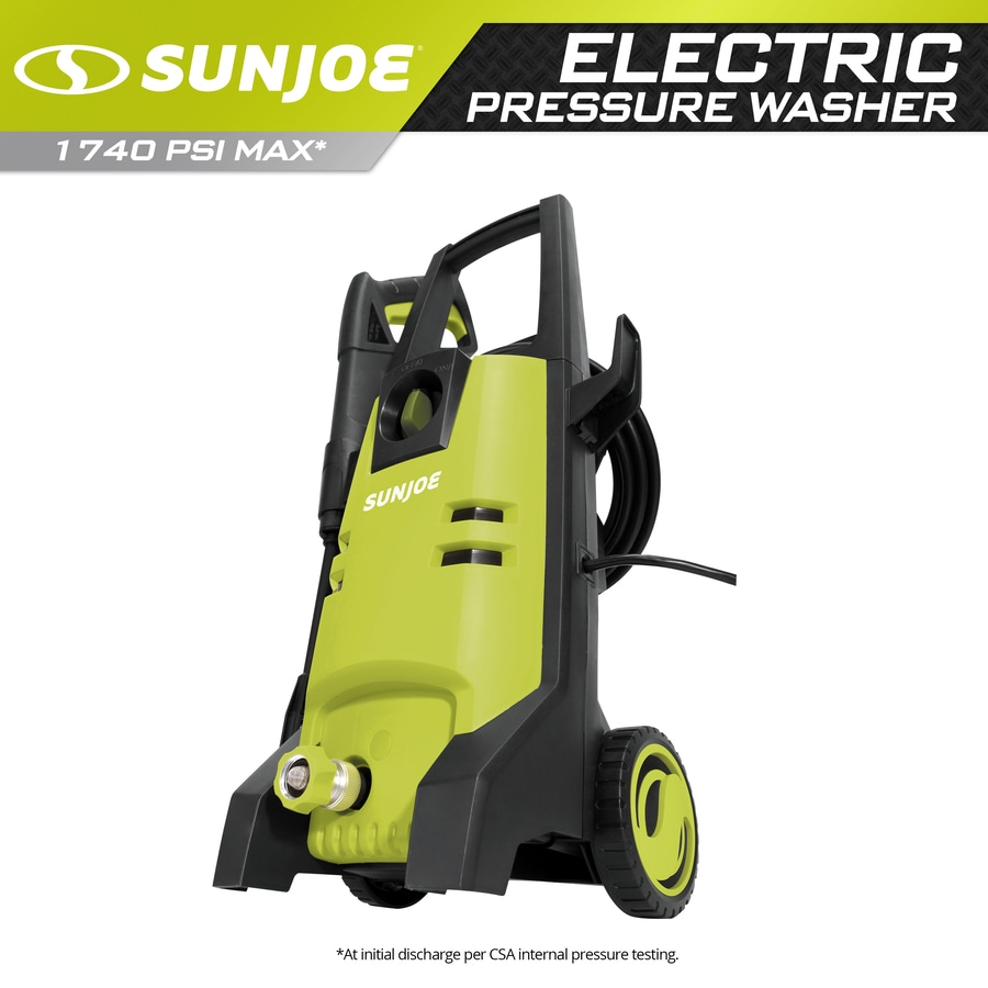 Sun Joe 1,700-PSI 1.59-GPM Cold Water Electric Pressure Washer