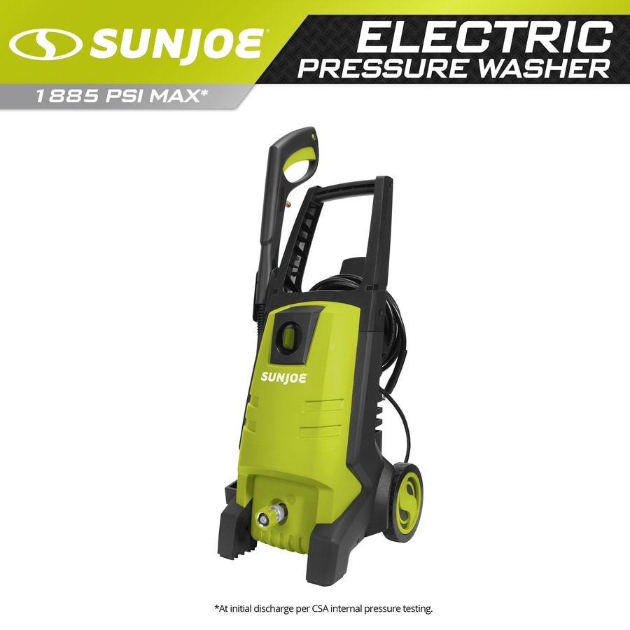Sun Joe 1,850-PSI 1.59-GPM Cold Water Electric Pressure Washer