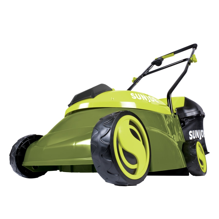 Sun Joe 28-volt Lithium Ion 16.5-in Deck Width Cordless Electric Lawn Mower (Battery Included)