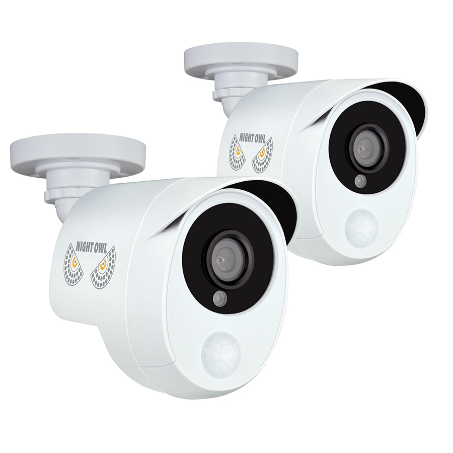 NIGHT OWL Analog Wired Outdoor 2 Security Camera with Night Vision