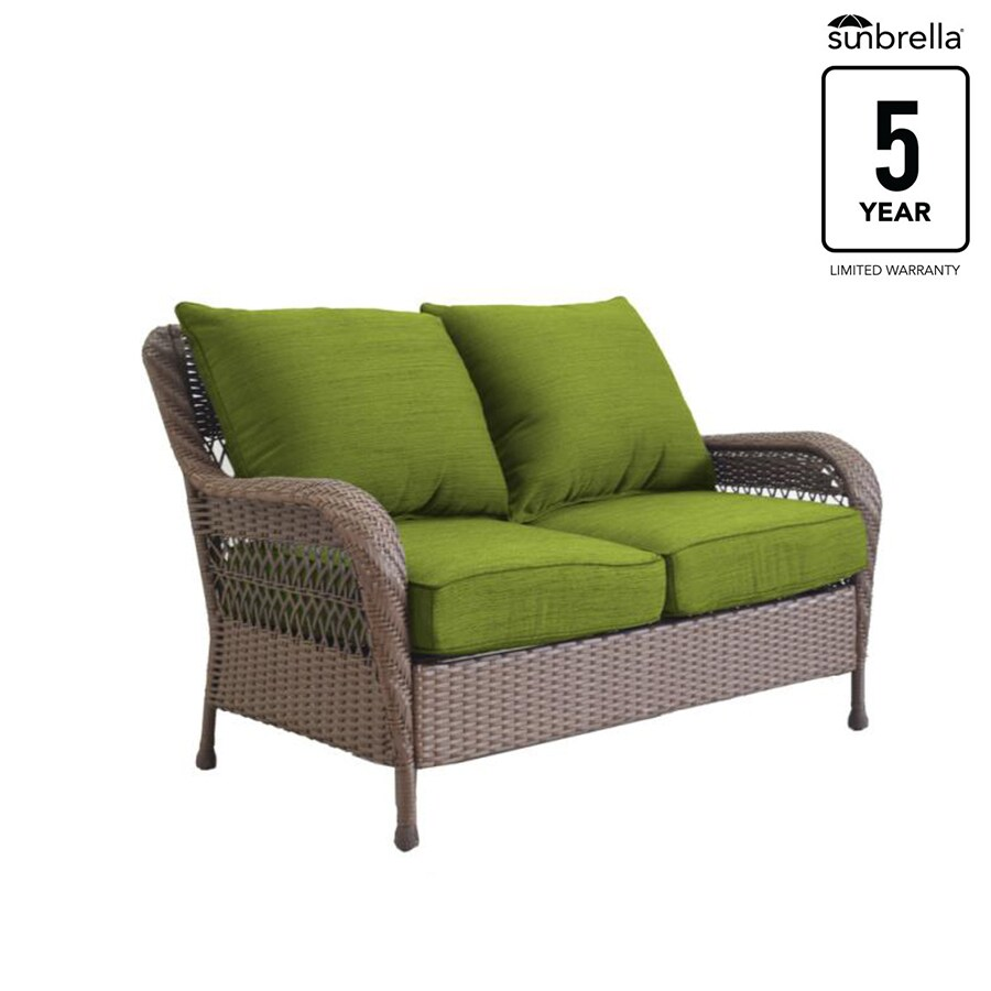 Roth Glenlee Wicker Outdoor Loveseat