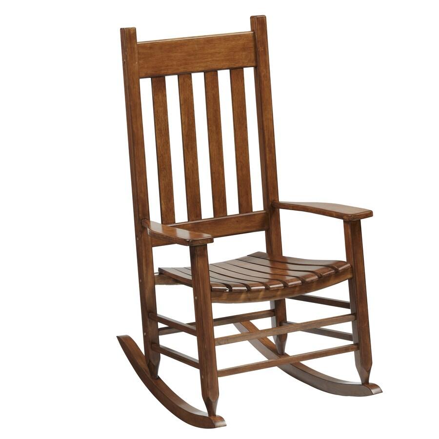 Shop Garden Treasures Porch Patio Rocking Chair At