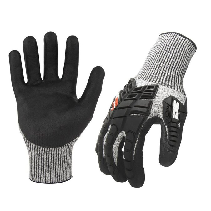 212 Performance Small Mens Nylon Nitrile Dipped Multipurpose Gloves In The Work Gloves Department At Lowes Com