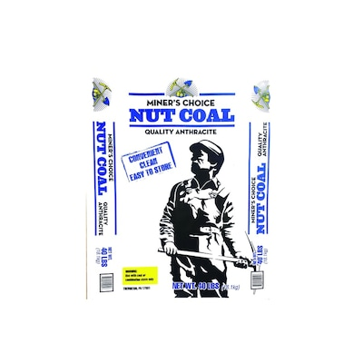 Miner's Choice 40-lb Nut Coal at Lowes com