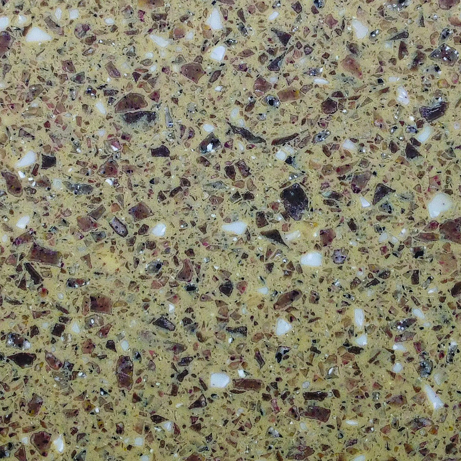 Allen + Roth Pecan Grove Solid Surface Kitchen Countertop Sample