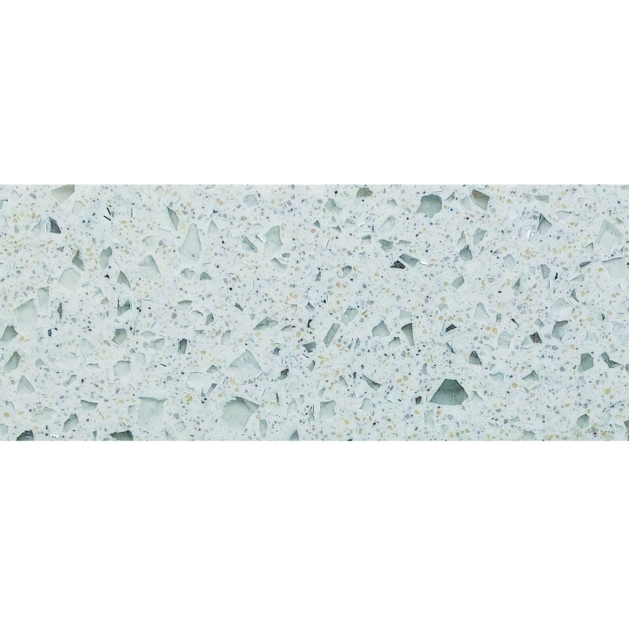 Allen + Roth Angelic Reef Solid Surface Kitchen Countertop Sample