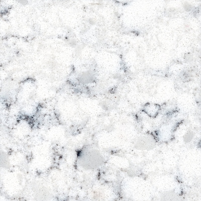 Allen + Roth Cosmic Vapor Quartz Kitchen Countertop Sample