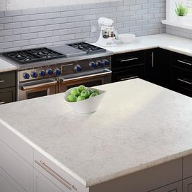 Allen + Roth Cosmic Vapor Quartz Kitchen Countertop Sample