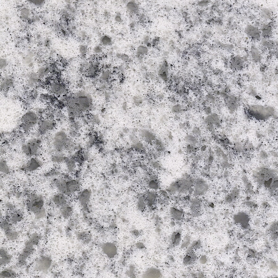 Shop Allen Roth Smokey Crest Quartz Kitchen Countertop