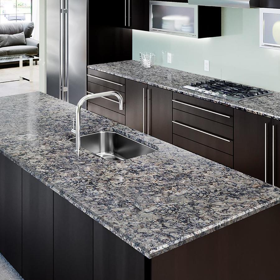 Superbe Allen + Roth Silver Drift Quartz Kitchen Countertop Sample