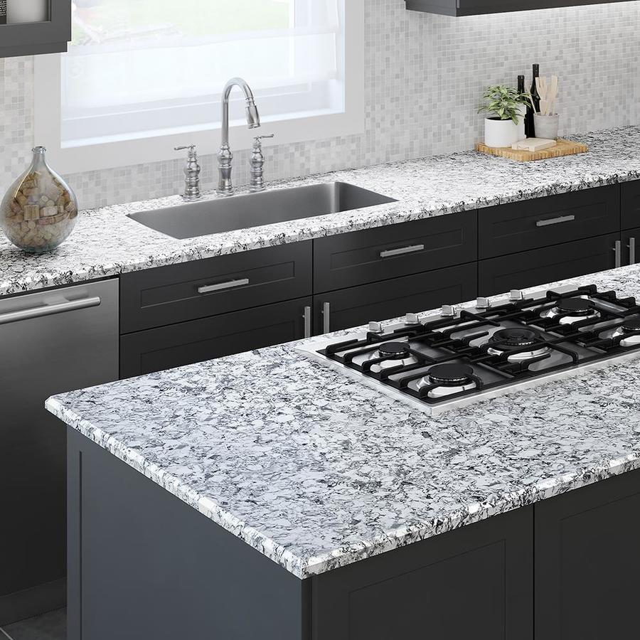 Merveilleux Allen + Roth Frosted Billow Quartz Kitchen Countertop Sample