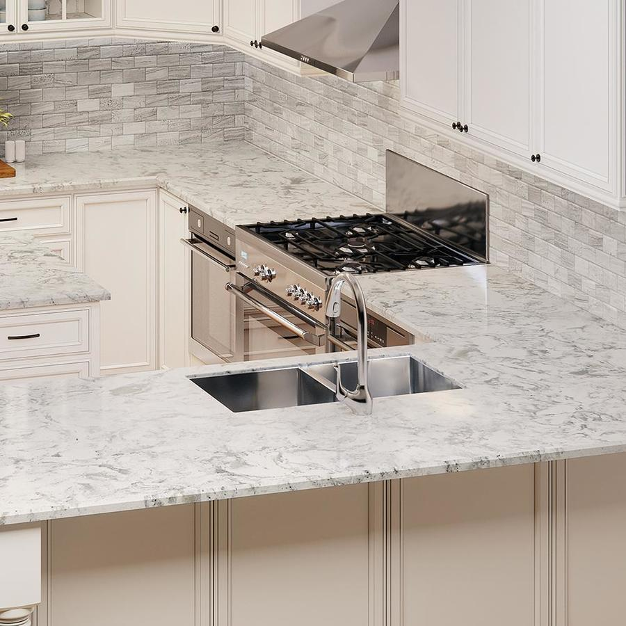 Attrayant Allen + Roth Salt Stone Quartz Kitchen Countertop Sample