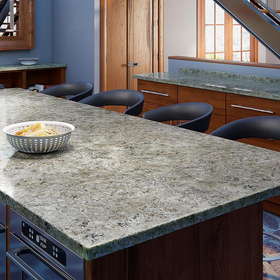 Kitchen Countertops Quartz Colors: Shop Allen + Roth Rushing Dusk Quartz Kitchen Countertop