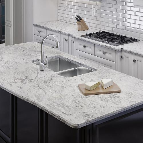 Allen + roth Barrow Granite Kitchen Countertop Sample at Lowes.com