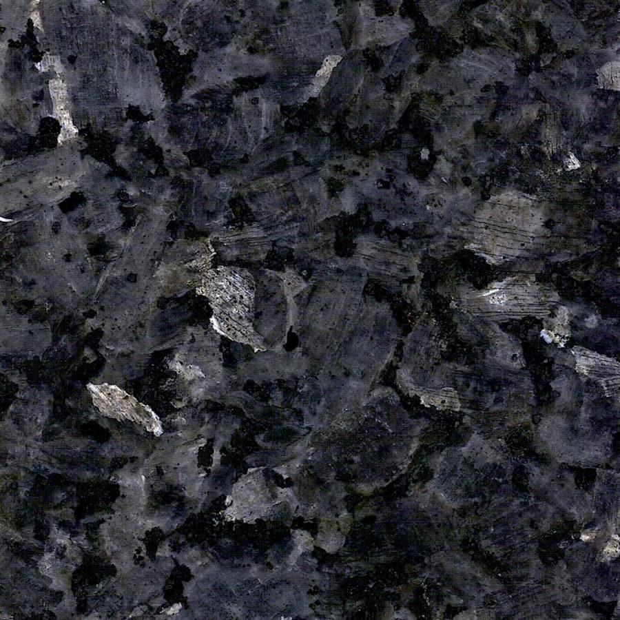 Lowes Kitchen Countertops: Allen + Roth Blue Pearl Granite Kitchen Countertop Sample