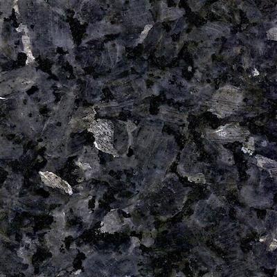 Allen Roth Blue Pearl Granite Kitchen
