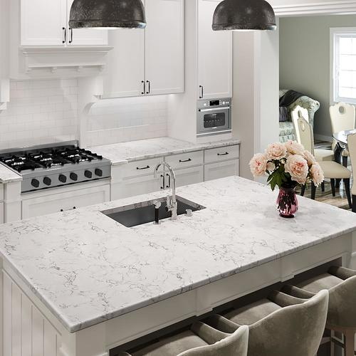 Allen Roth Effervesce Quartz Kitchen