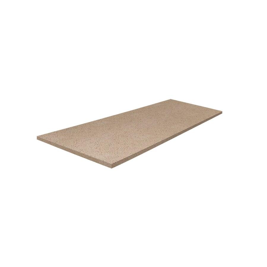 LG HI-MACS 6.02083-ft Sugar Magnolia Straight Solid Surface Kitchen Countertop