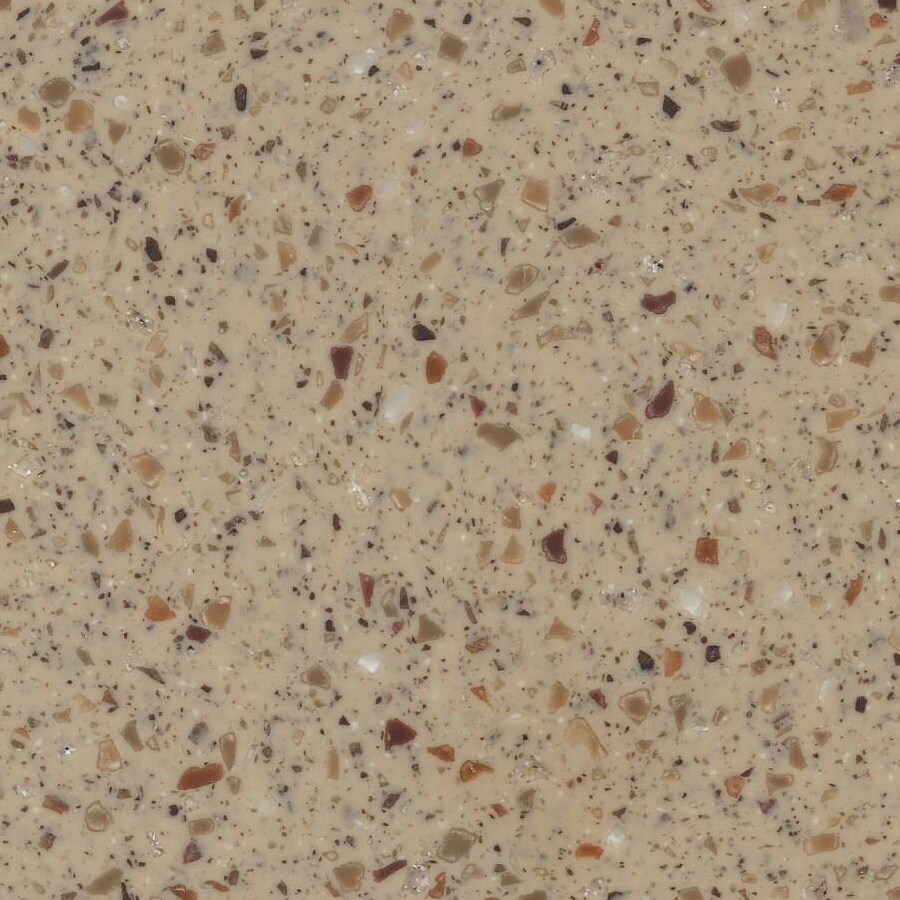 LG HI MACS Nubian Solid Surface Kitchen Countertop Sample
