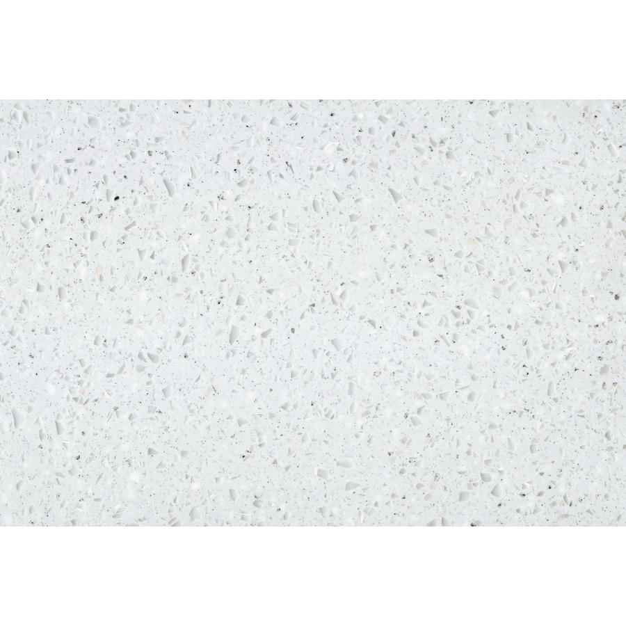 Shop Lg Hi Macs Sugarloaf Solid Surface Kitchen Countertop Sample At Lowes Com: Shop LG HI-MACS Cloud Solid Surface Kitchen Countertop