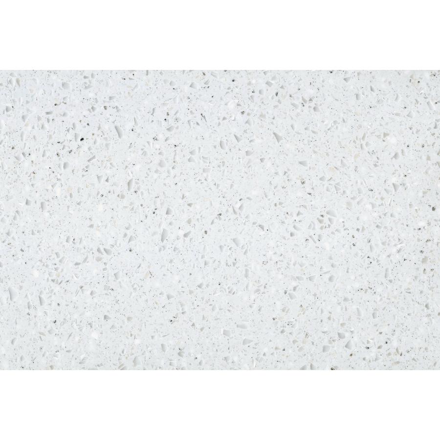 LG HI-MACS Cloud Solid Surface Kitchen Countertop Sample