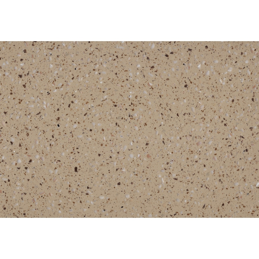 shop lg hi-macs acorn solid surface kitchen countertop sample at