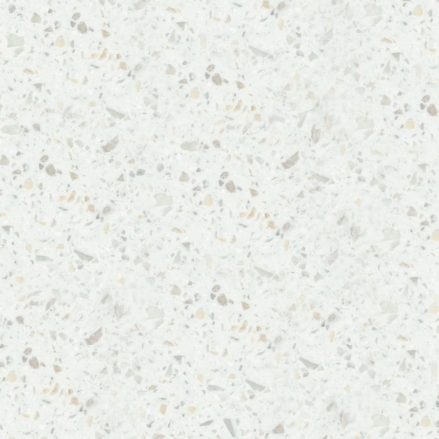 Shop Lg Hi Macs Sugarloaf Solid Surface Kitchen Countertop Sample At Lowes Com: LG HI-MACS Kamet Solid Surface Kitchen Countertop Sample