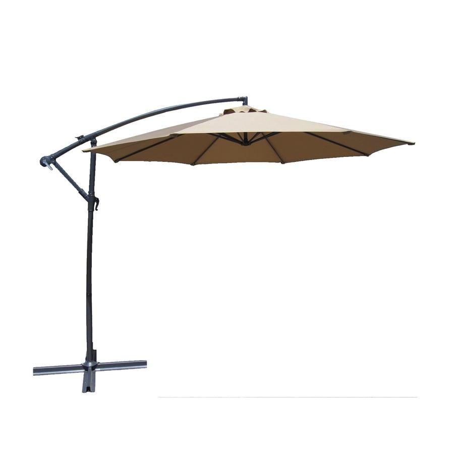 Lauren & Company Patio Umbrella (Common: 120-in W x 120-in - Shop Offset Patio Umbrellas At Lowes.com