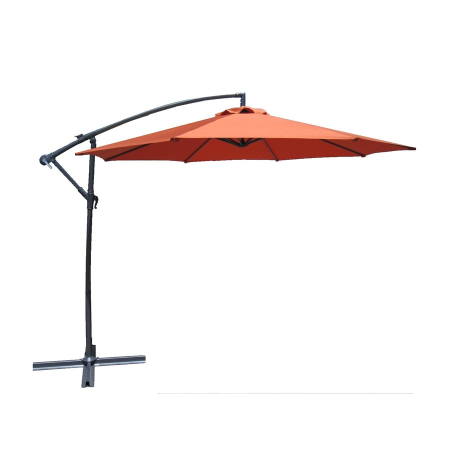 Lauren & Company Patio Umbrella (Common: 120-in W x 120-in L; Actual: 120-in W x 120-in L)