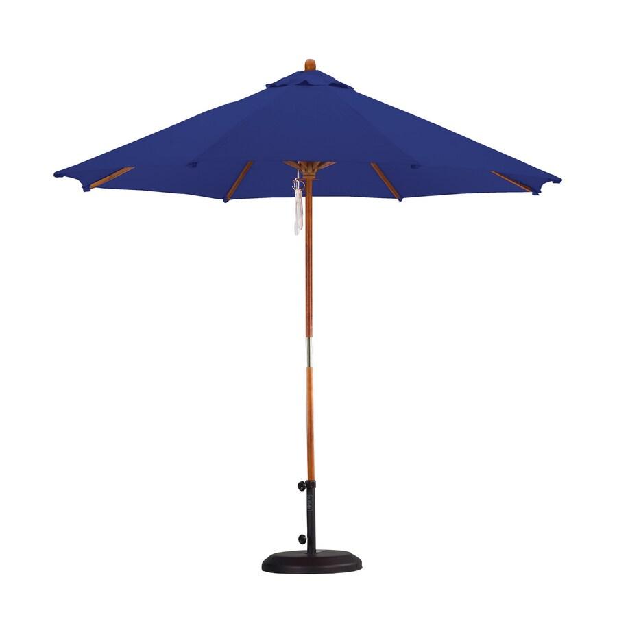 shop company navy blue market patio umbrella