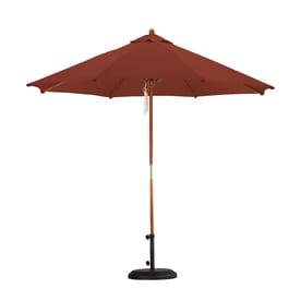 Lauren U0026 Company Market Patio Umbrella (Common: 9 Ft W X 9