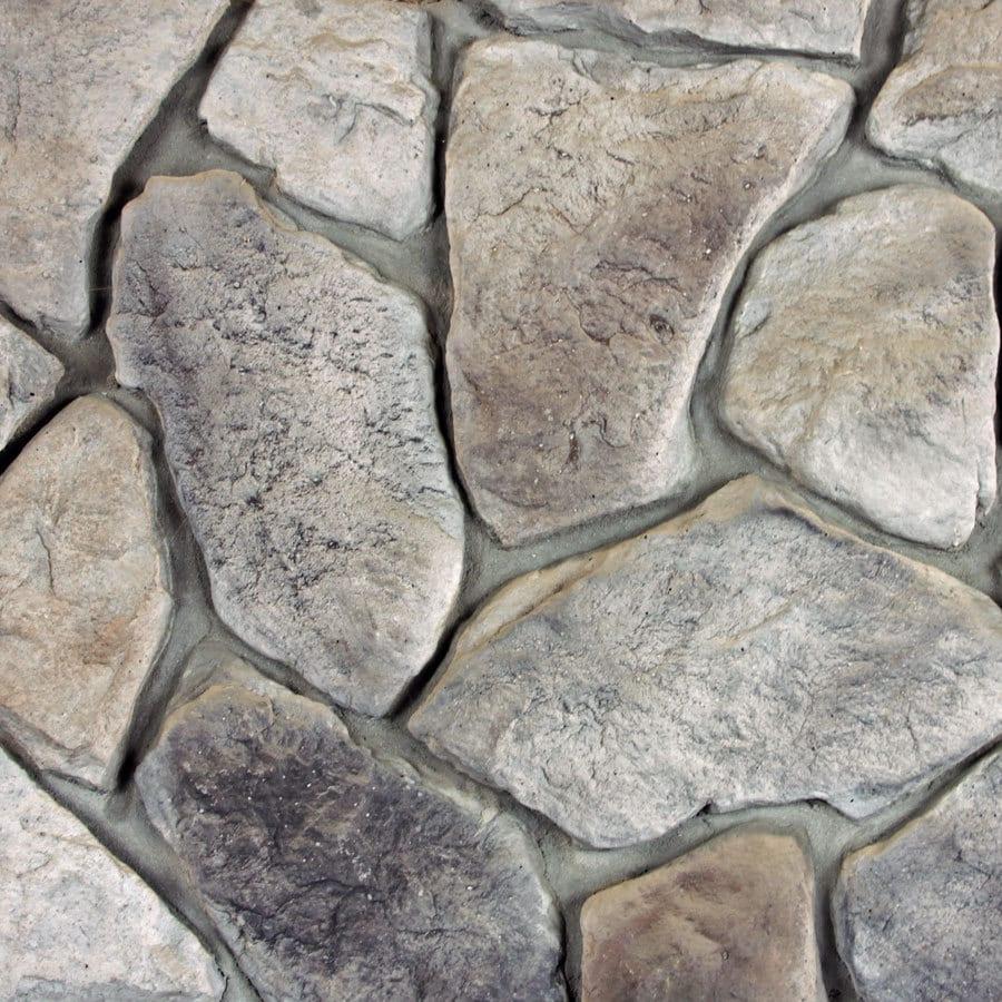 M-Rock Mountain Top Field Gray Molded Corner Stone Veneer Trim
