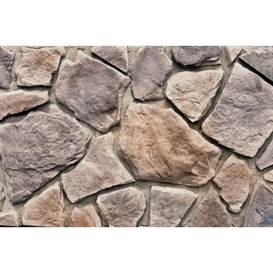 Shop M Rock Woodland Field 100 Sq Ft Brown Stone Veneer At