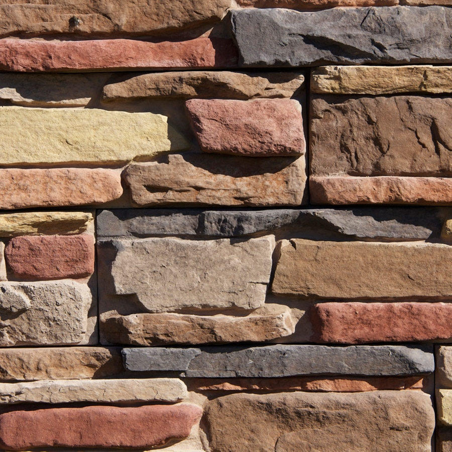 M-Rock MSI Meridian Ledge 83-sq ft Brown Stone Veneer