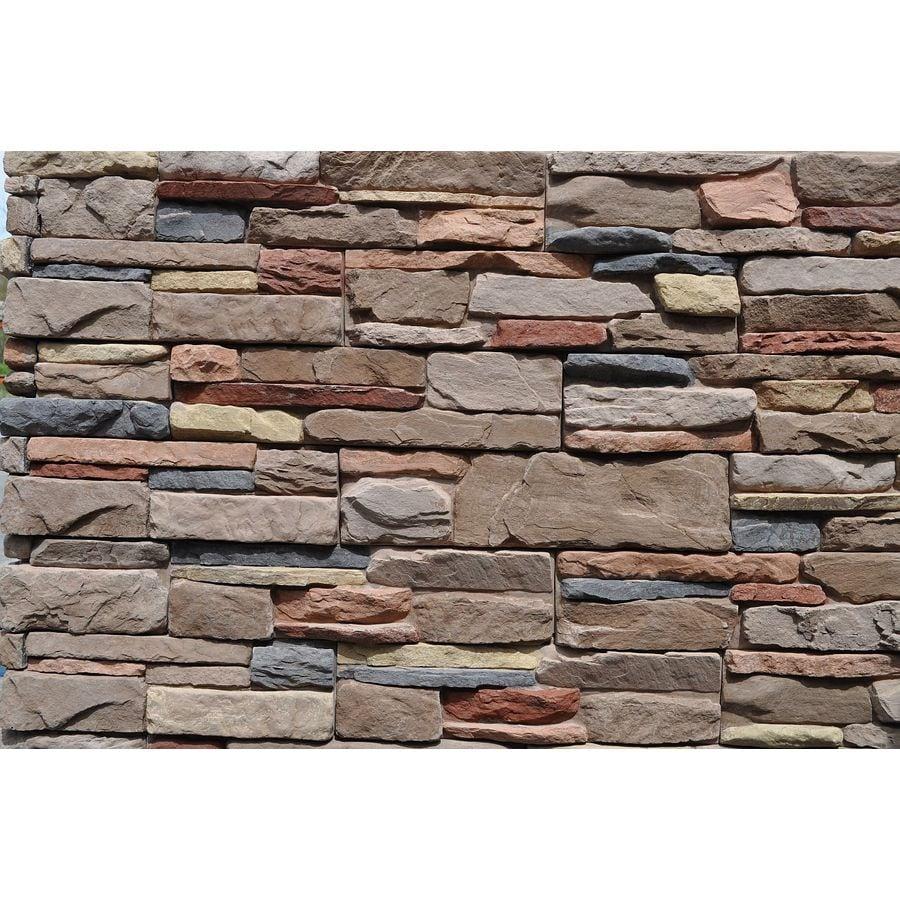 M-Rock MSI Aspen Ledge 83-sq ft Brown Stone Veneer