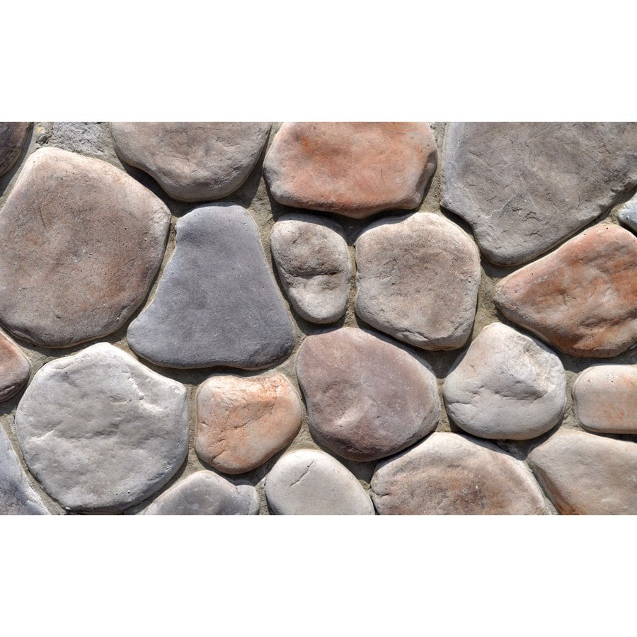 M-Rock Clearwater River Gray Molded Corner Stone Veneer Trim