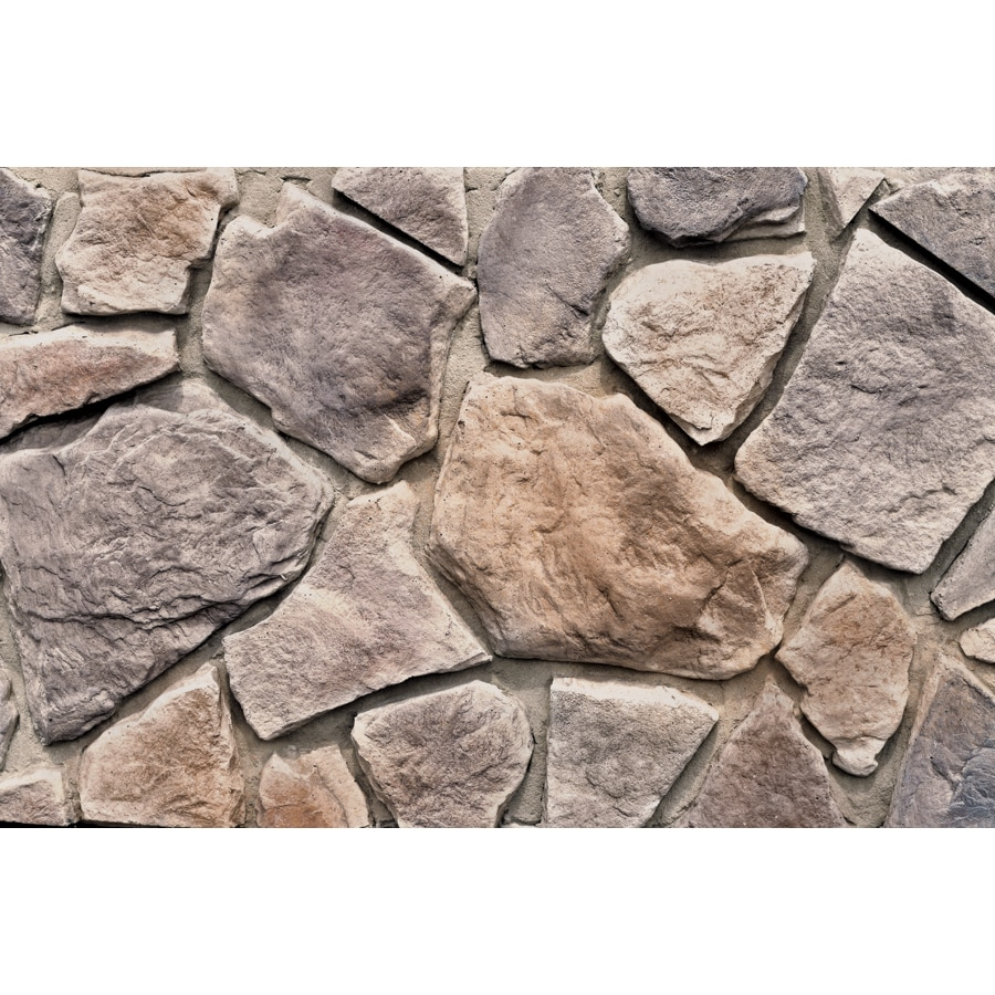 M-Rock Woodland Field 48-sq ft Brown Stone Veneer