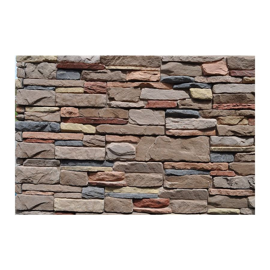 M-Rock MSI Meridian Ledge 39.2-sq ft Brown Stone Veneer