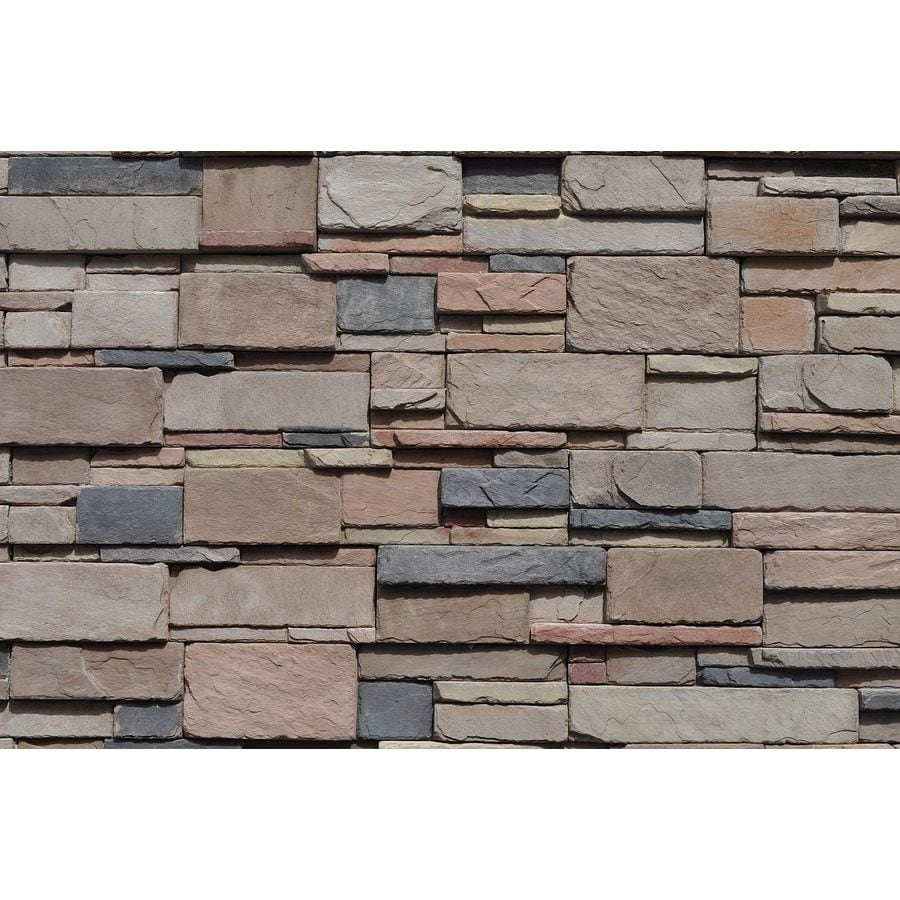 M-Rock MSI Horizion Dry Stack 39.2-sq ft Brown Stone Veneer