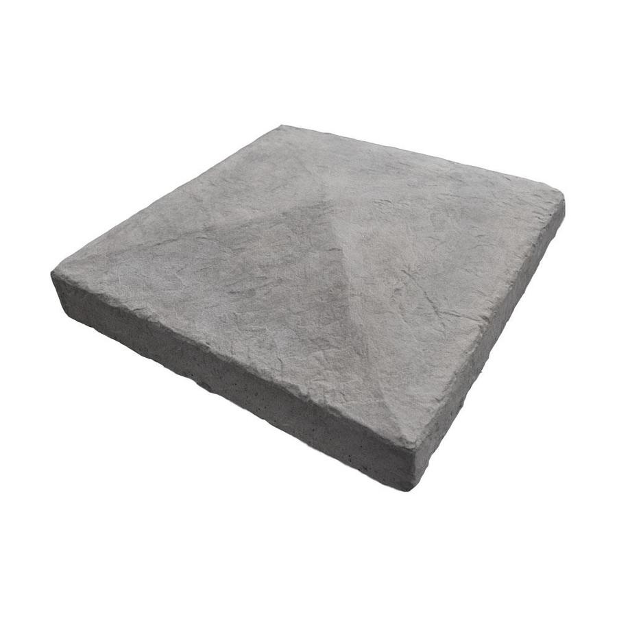 M-Rock 6x6 Pyramid Post Cap Gray Column Cap Stone Veneer Trim