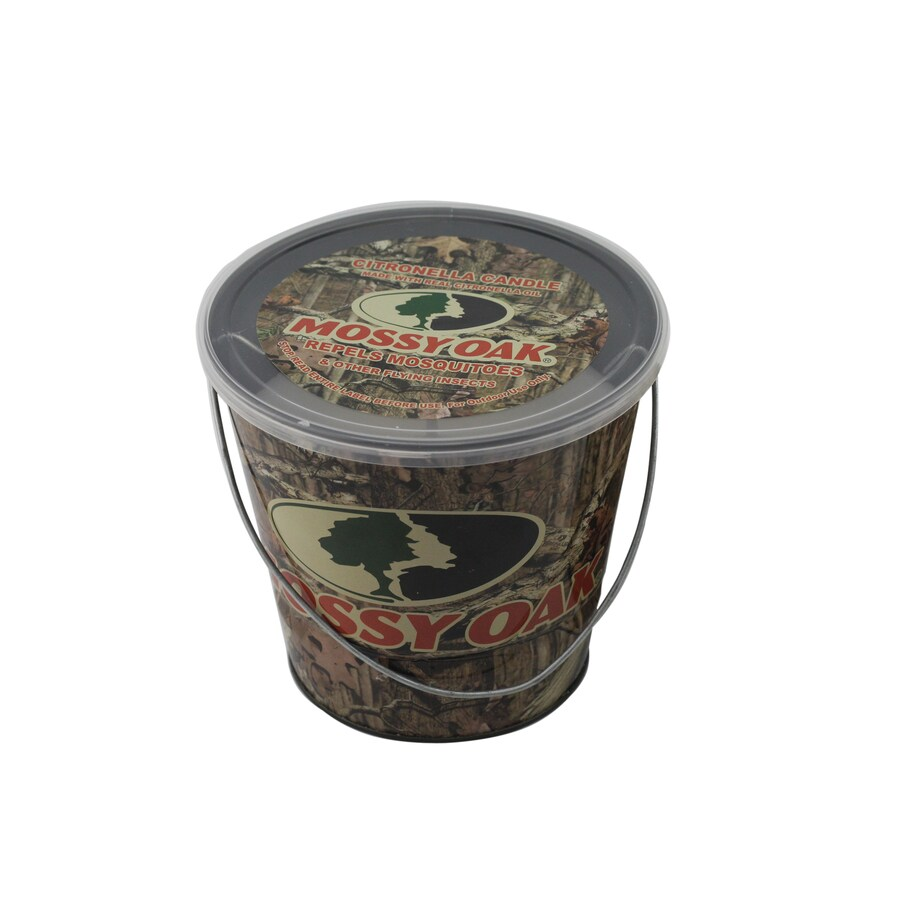 1-Wick Mossy Oak Color Tabletop Citronella Candle