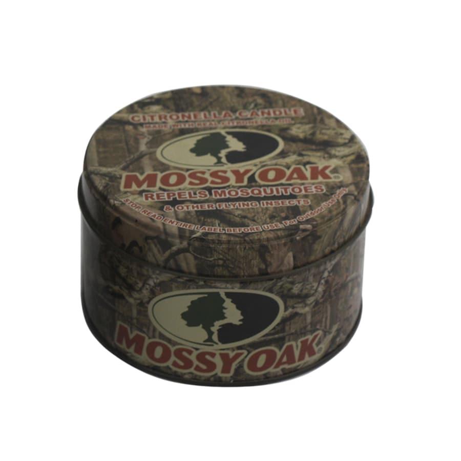 1-Wick Mossy Oak Color Tabletop Citronella Candle