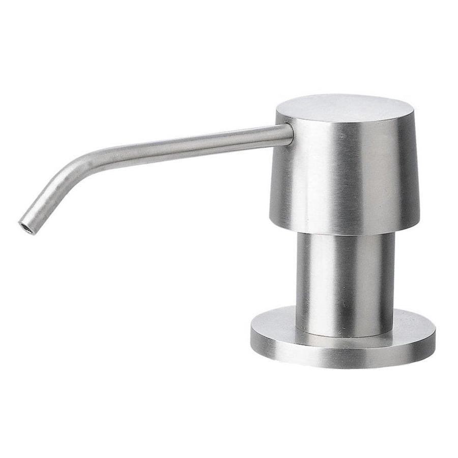 Alfi Brand Brushed Stainless Steel Soap And Lotion Dispenser At