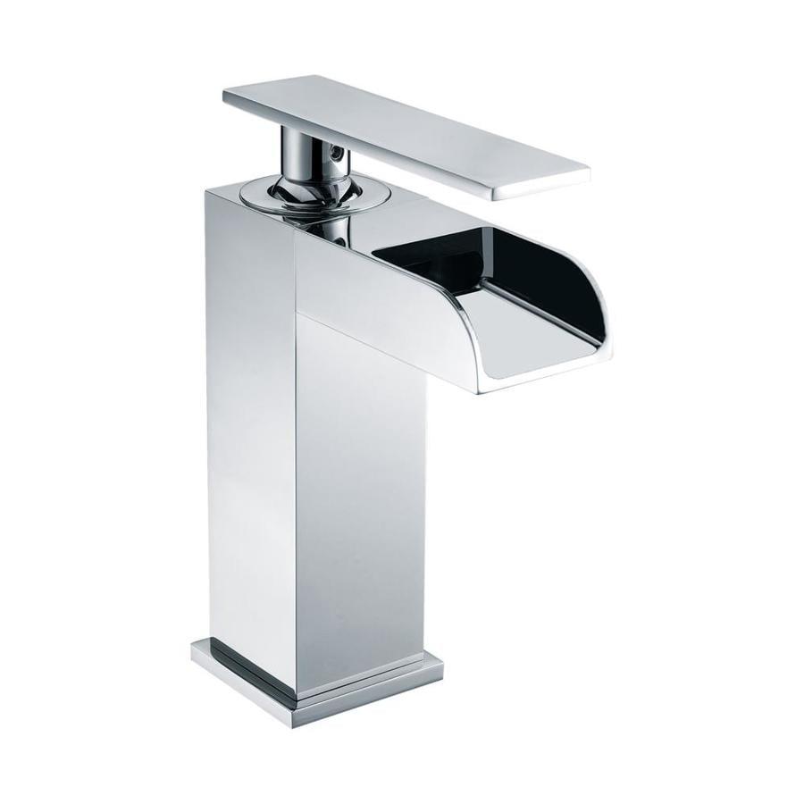 Alfi Brand Polished Chrome 1 Handle Single Hole Bathroom